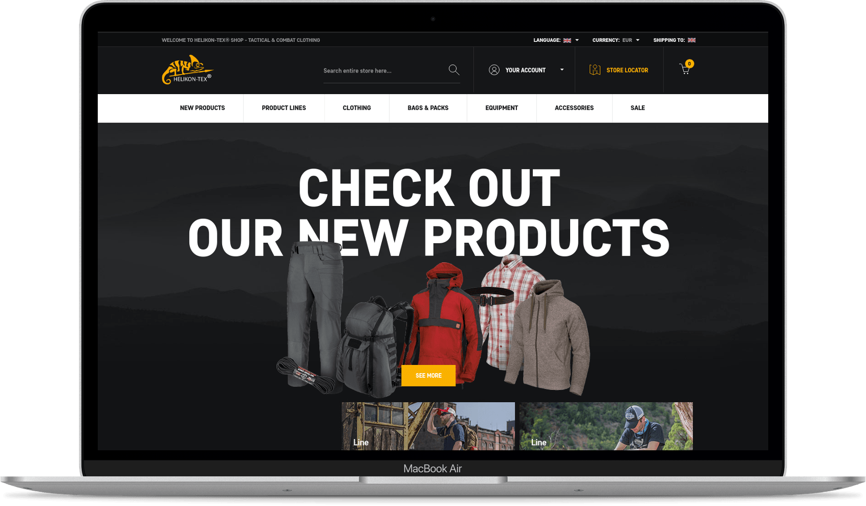 helikon website