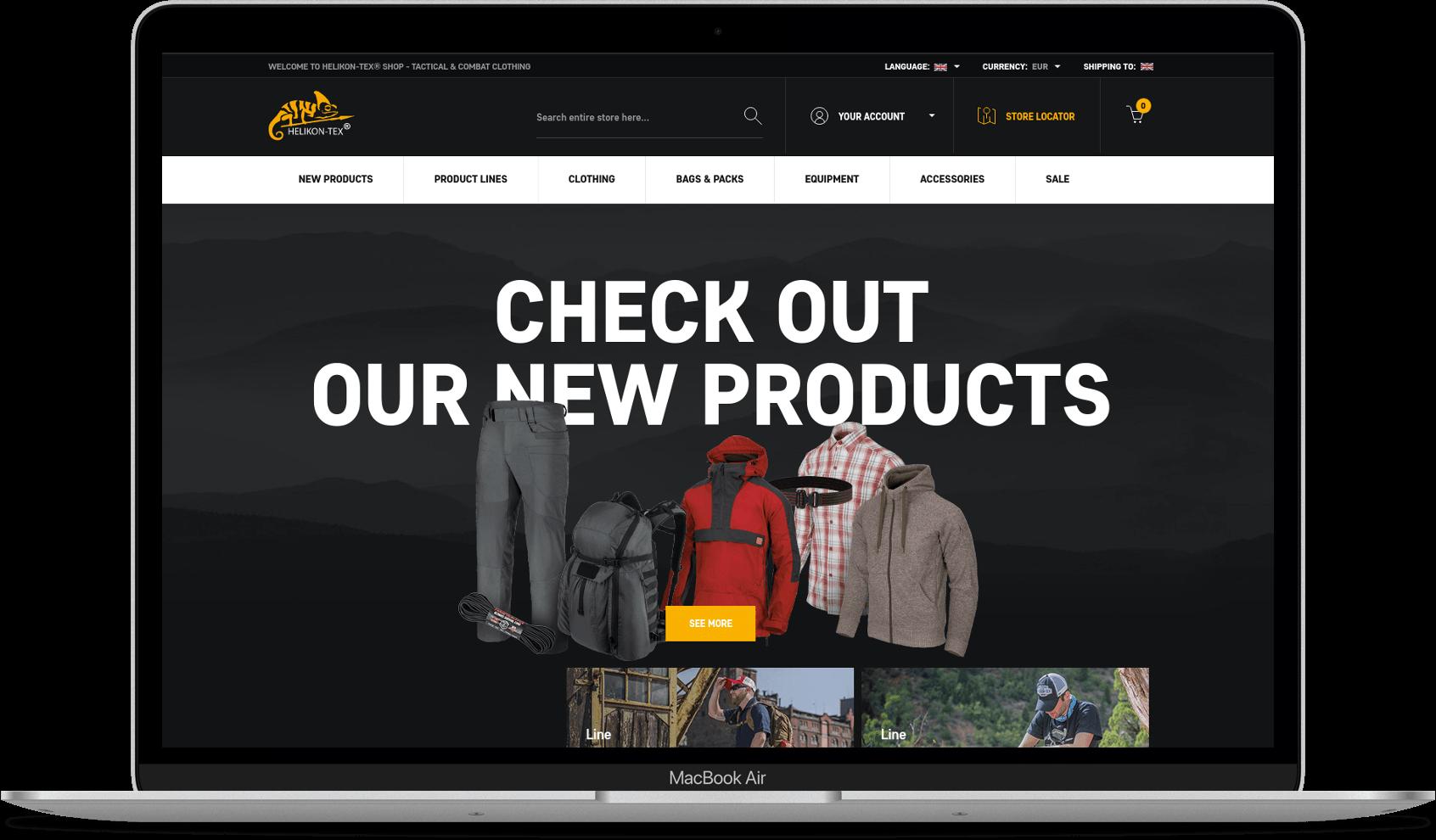 helikon website